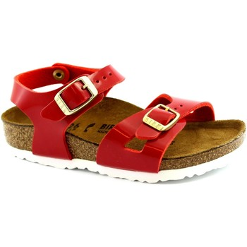 Schuhe Kinder Sandalen / Sandaletten Birkenstock BIR-RRR1005888-RE Rosso
