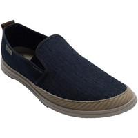 Schuhe Herren Hausschuhe Muro Hanf Canvas Sneaker für Herren  blau Blau