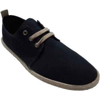 Schuhe Herren Hausschuhe Calzamur Herren Sneakers Schnürsenkel Hanfkante L Blau