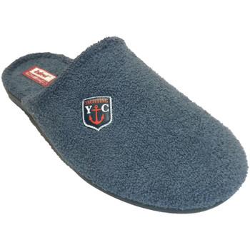 Schuhe Herren Hausschuhe Made In Spain 1940 Herren Flip Flop am Zeh geschlossen Rode Blau