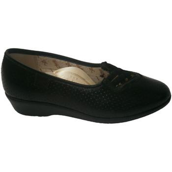 Schuhe Damen Pumps Doctor Cutillas Durchbrochener Damenschuh mit gekreuzten Schwarz