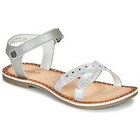 Schuhe Mädchen Sandalen / Sandaletten Kickers DIDONC Silbern