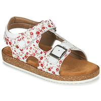 Schuhe Mädchen Sandalen / Sandaletten Kickers FUNKYO Weiss