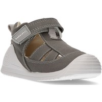 Schuhe Kinder Sandalen / Sandaletten Biomecanics Sandalen  LEINWAND BABY AZAI GRAU