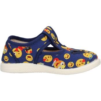 Schuhe Jungen Derby-Schuhe Coccole - Occhio di bue  blu 125 SMILE BLU