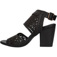 Schuhe Damen Wassersportschuhe Bueno Shoes - Sandalo nero 1004 NERO