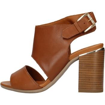 Schuhe Damen Wassersportschuhe Keys - Sandalo cuoio K-1981 MARRONE