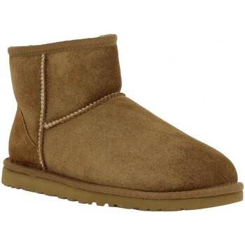 Schuhe Damen Low Boots UGG 55046 Beige
