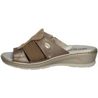 Schuhe Damen Pantoffel Florance 22508 TORTORA
