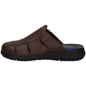 Schuhe Herren Pantoletten / Clogs Robert 83560-1 BRAUN