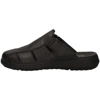 Schuhe Herren Pantoletten / Clogs Robert 83560-1 SCHWARZ