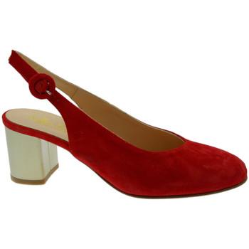 Schuhe Damen Sandalen / Sandaletten Soffice Sogno SOSO20052ro rosso