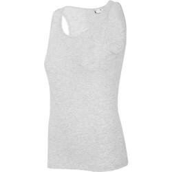 Kleidung Damen Tops 4F TSD003 Grau