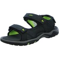 Schuhe Herren Sandalen / Sandaletten Cmp F.lli Campagnolo Offene Sandale Sp-Boden 38Q9947 U901 schwarz