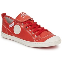 Schuhe Damen Sneaker Low Pataugas BROOKS Rot