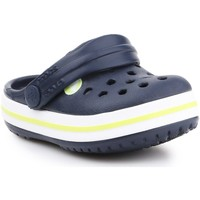 Schuhe Kinder Pantoletten / Clogs Crocs Crocband Clog K 204537-42K dunkelblau