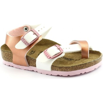 Schuhe Mädchen Sandalen / Sandaletten Birkenstock BIR-RRR-1009499-RW Rosa