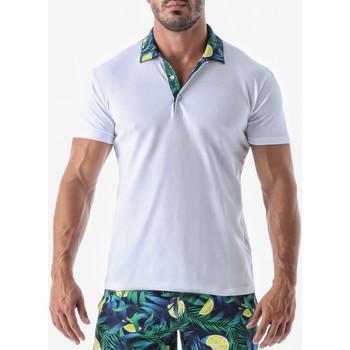 Kleidung Herren T-Shirts Geronimo Kurzarm-T-Shirt Früchte Dunkelgrün