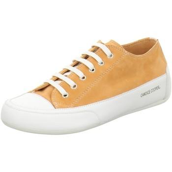 Schuhe Damen Sneaker Candice Cooper Schnuerschuhe bianco/arancio CC2846 Rock orange