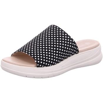 Schuhe Damen Pantoffel Remonte Dorndorf Pantoletten Pantolette D4251-14 blau