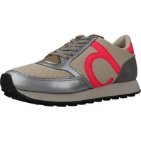 Schuhe Damen Sneaker Low Duuo PRISA KID LACE 031 Beige