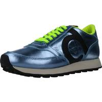 Schuhe Damen Sneaker Low Duuo PRISA KID LACE 033 Blau