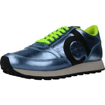 Schuhe Damen Sneaker Duuo PRISA KID LACE 033 Blau