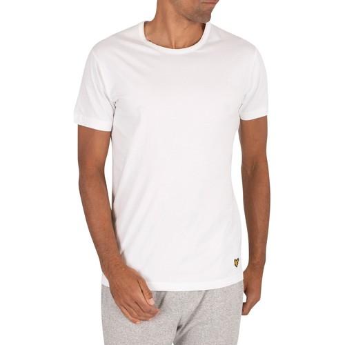 Lyle & Scott 3er Pack Maxwell Lounge Crew T-Shirts mehrfarbig - Kleidung T-Shirts Herren 2886 ta7w4