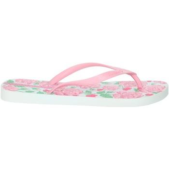 Schuhe Damen Zehensandalen Ipanema 82655 Rosa/Weiss