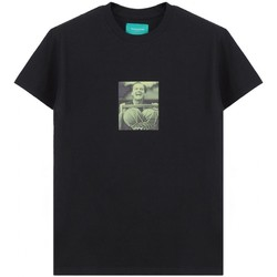 Kleidung Herren T-Shirts Backsideclub | T-Shirt-Jack, Schwarz | BSC_TH 116 JACK BLK Noir