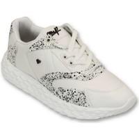 Schuhe Herren Sneaker Low Cash Money TouchWhite Weiß