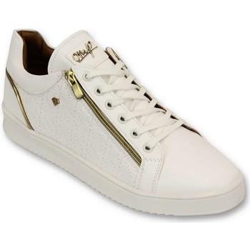 Schuhe Herren Sneaker Low Cash Money Maya Voll CMS Weiß