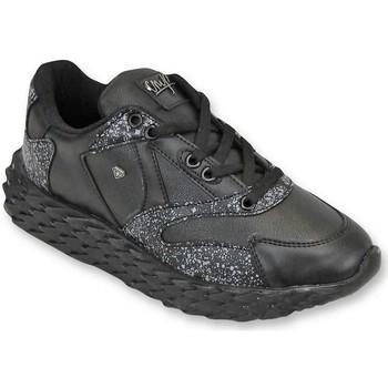 Schuhe Herren Sneaker Low Cash Money Touch Schwarz