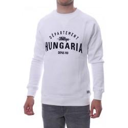 Kleidung Herren Sweatshirts Hungaria H-16TLMOEOLE Weiss