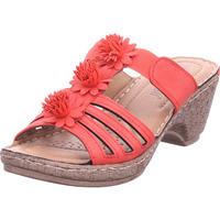 Schuhe Damen Pantoletten / Clogs Hengst - B33204 rot