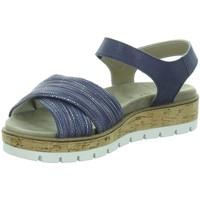 Schuhe Damen Sandalen / Sandaletten Longo Sandaletten Bequem-Sandalette,blue barow 1045391 blau