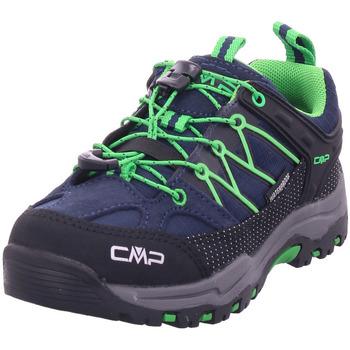 Schuhe Herren Wanderschuhe Cmp Kids Rigel Low Trekking B.Blue-gecko
