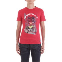 Kleidung Herren T-Shirts Yes Zee T700-TL11 rot