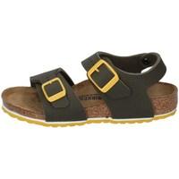 Schuhe Jungen Sandalen / Sandaletten Birkenstock 1015754 Militärgrün