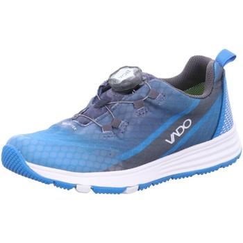 Schuhe Jungen Sneaker Low Vado Schnuerschuhe SKY neon aqua 13303-158 blau