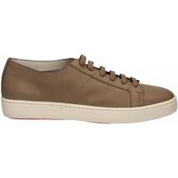 Schuhe Herren Sneaker Low Santoni CLEANIC-MIA sabbia