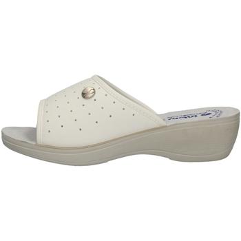 Schuhe Damen Pantoffel Inblu I Bianchi PL 45 WEISS