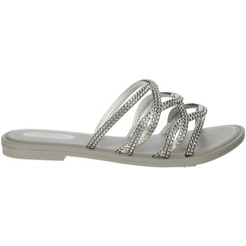 Schuhe Damen Pantoffel Grendha 17629 Silber