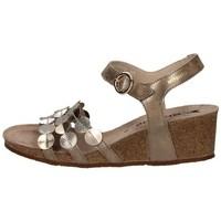 Schuhe Damen Sandalen / Sandaletten Mephisto P5133176 TAUPE