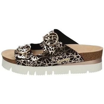 Schuhe Damen Pantoffel Mephisto P5133613 SCHWARZ