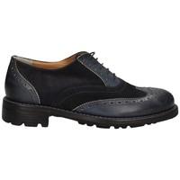 Schuhe Damen Richelieu Campanile CC42 BLAU
