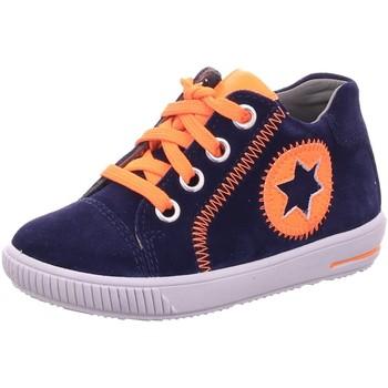 Schuhe Jungen Babyschuhe Superfit Schnuerschuhe 1-000348-8000 blau