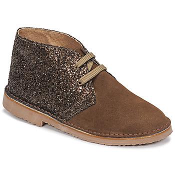 Schuhe Mädchen Boots Citrouille et Compagnie NINUP Maulwurf