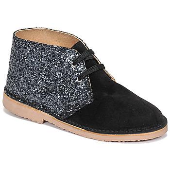 Schuhe Mädchen Boots Citrouille et Compagnie NINUP Schwarz