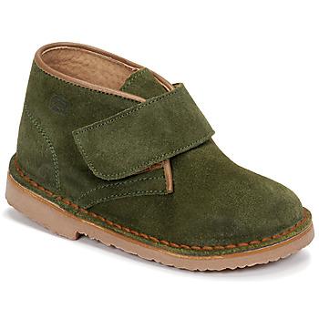 Schuhe Jungen Boots Citrouille et Compagnie NANUP Kaki